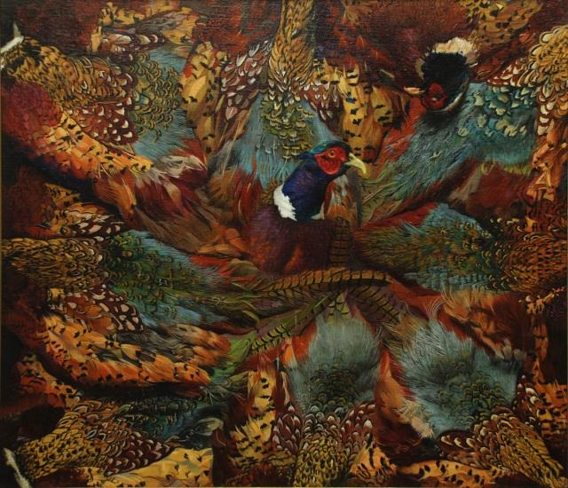 Ken Pledger's Pheasant 26x30 Oil on Canvas